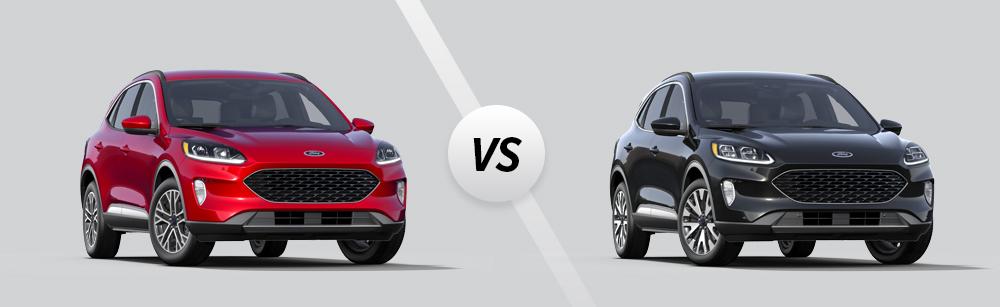 2021 Ford Escape SEL vs 2021 Ford Escape Titanium