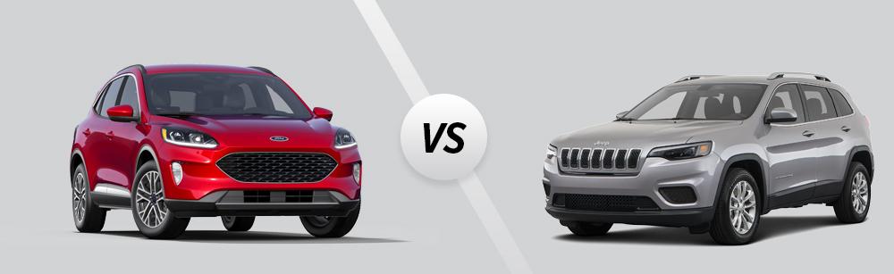 2021 Ford Escape vs 2021 Jeep Cherokee