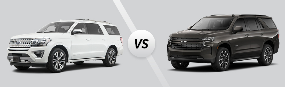 2021 Ford Expedition vs 2021 Chevrolet Tahoe