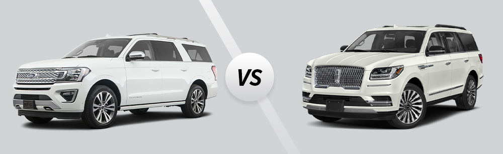 2021 Ford Expedition vs 2021 Lincoln Navigator