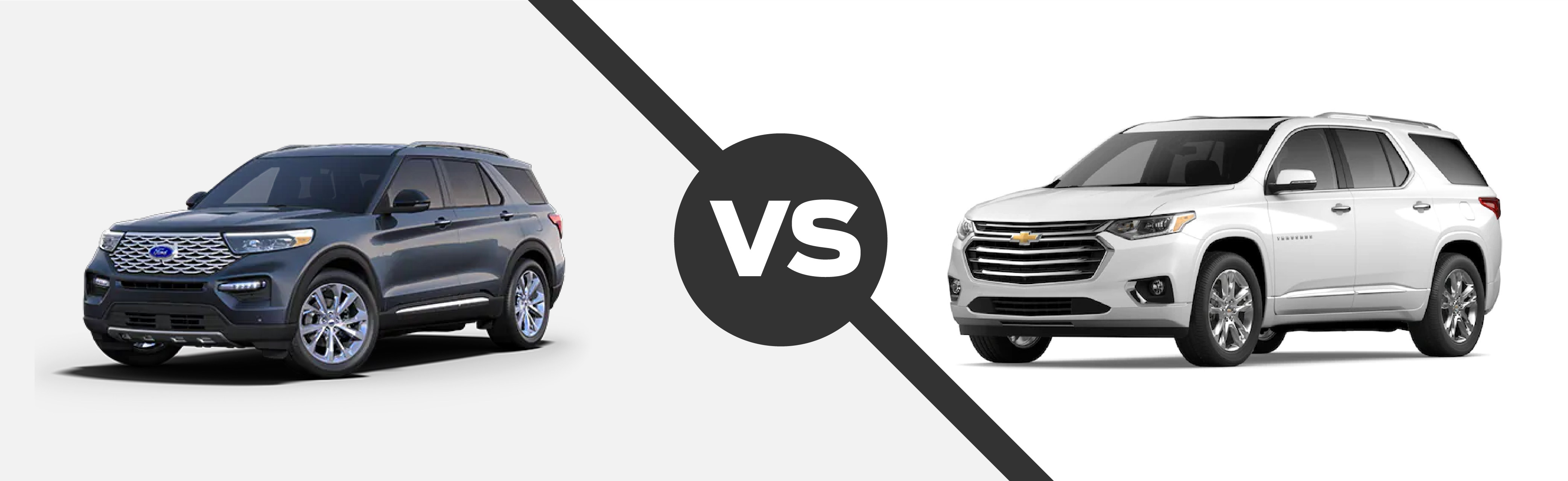 2021 Ford Explorer vs 2021 Chevrolet Traverse