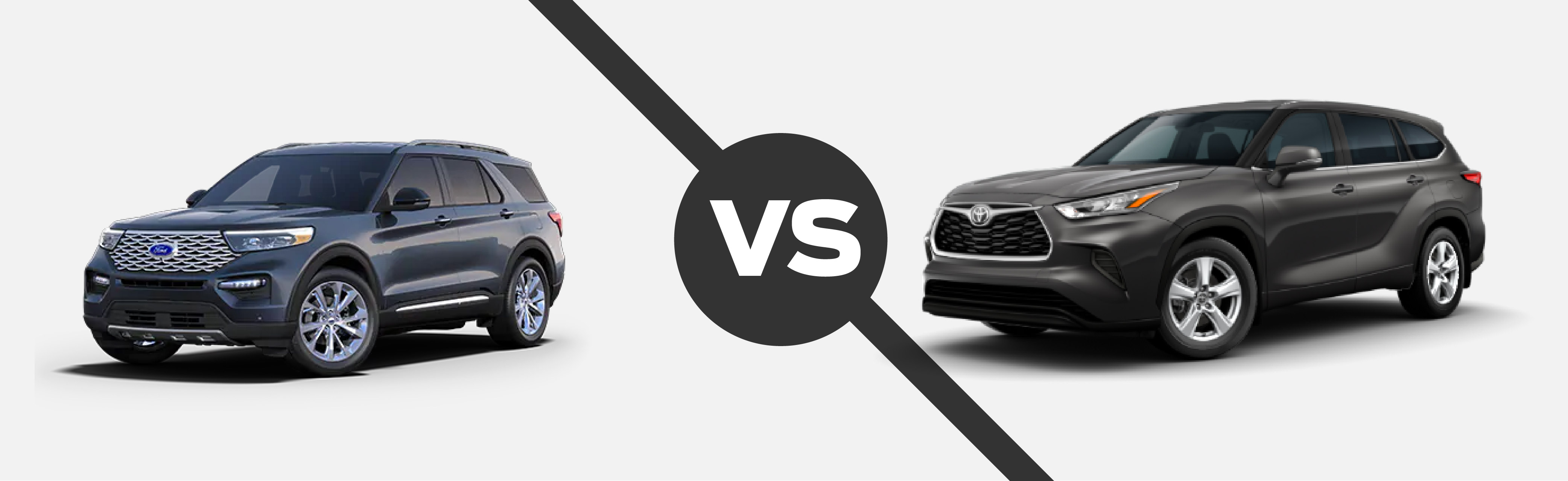 2021 Ford Explorer vs 2021 Toyota Highlander