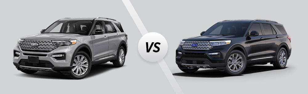 2021 Ford Explorer XLT vs 2021 Ford Explorer Limited