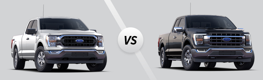2021 Ford F-150 XLT vs 2021 Ford F-150 Lariat