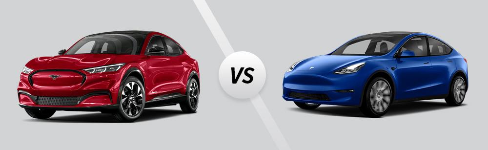 2021 Ford Mustang Mach-E vs 2021 Tesla Model Y