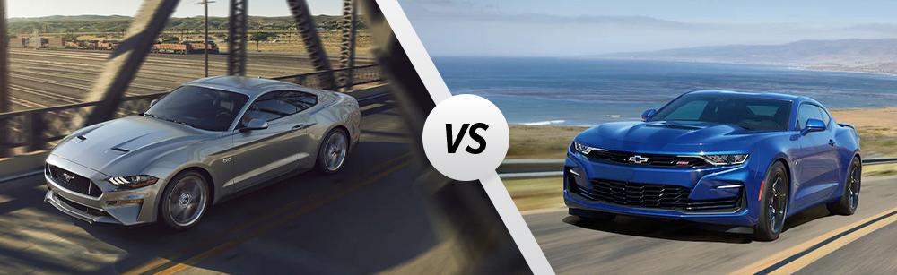2021 Ford Mustang vs 2021 Chevrolet Camaro