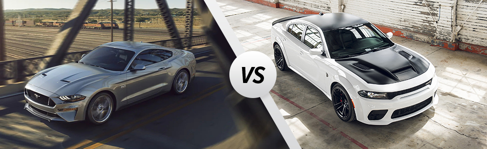 2021 Ford Mustang vs 2021 Dodge Charger