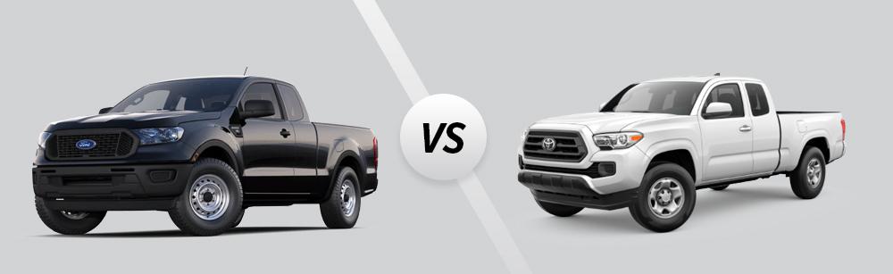 2021 Ford Ranger vs 2021 Toyota Tacoma