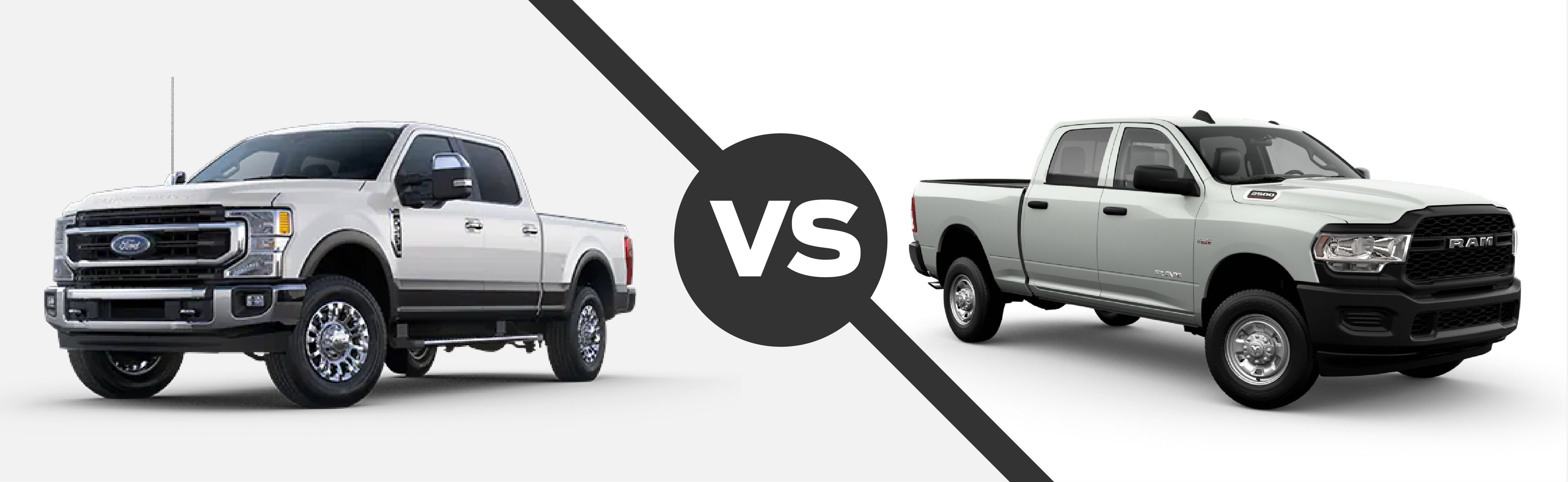 2021 Ford Super Duty vs 2021 Ram 2500
