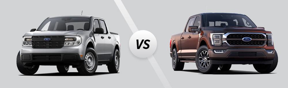2022 Ford Maverick vs 2021 Ford F-150