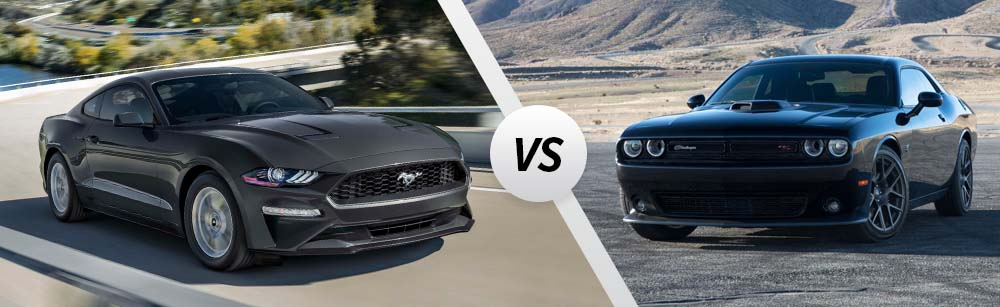 2020 Ford Mustang vs 2020 Dodge Challenger