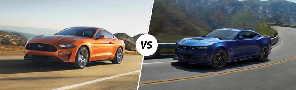 2020 Ford Mustang vs 2020 Chevrolet Camaro