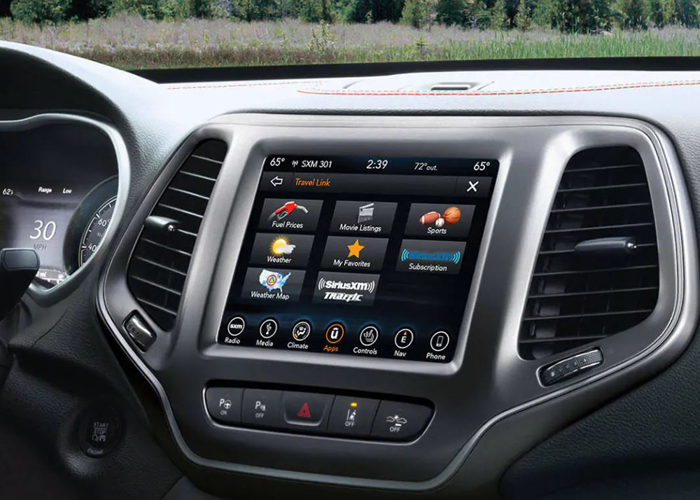 2021 Jeep Cherokee Features