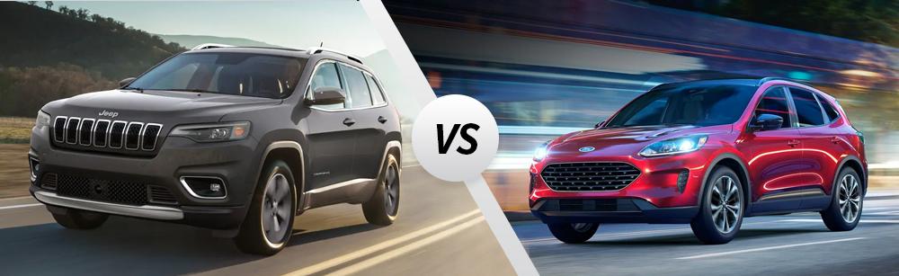 2021 Jeep Cherokee vs 2021 Ford Escape