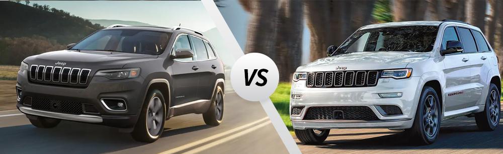 2021 Jeep Cherokee vs 2021 Jeep Grand Cherokee