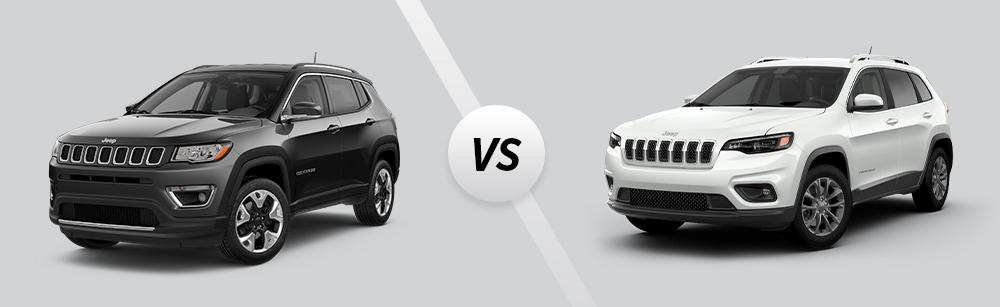 2021 Jeep Compass vs 2021 Jeep Cherokee