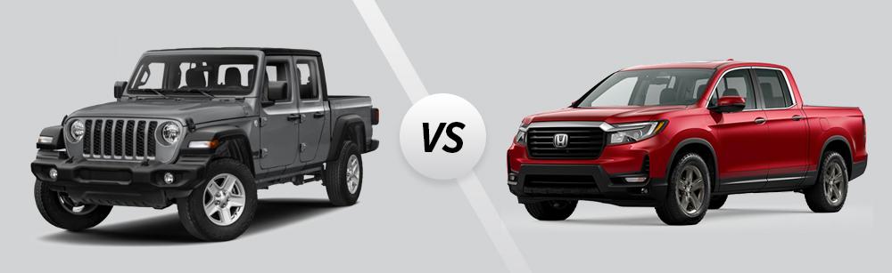 2021 Jeep Gladiator vs 2021 Honda Ridgeline