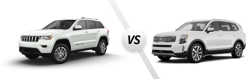2021 Jeep Grand Cherokee vs 2021 Kia Telluride