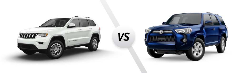 2021 Jeep Grand Cherokee vs 2021 Toyota 4Runner