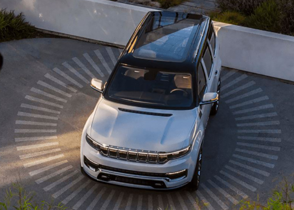 2022 Jeep Grand Wagoneer Safety Features