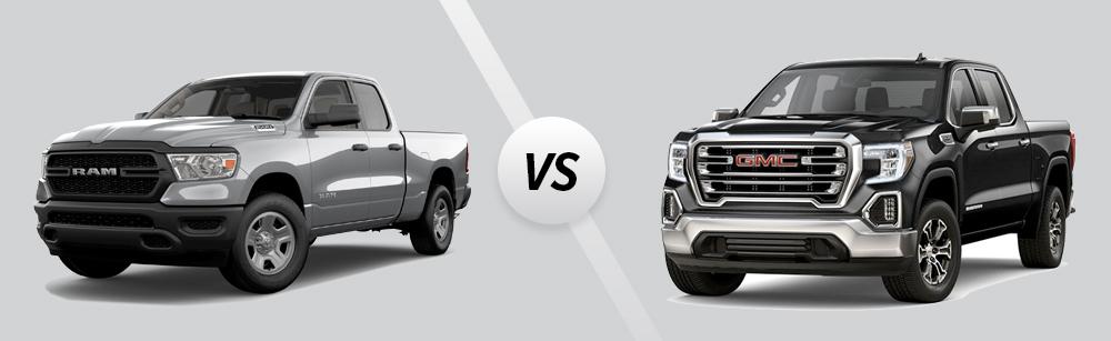 2021 Ram 1500 vs 2021 GMC Sierra 1500