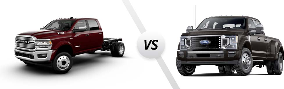 2021 Ram 4500 vs 2021 Ford F-450
