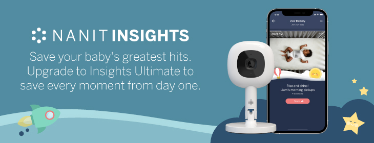 Nanit Insights Ad with Multi-Stand and Phone