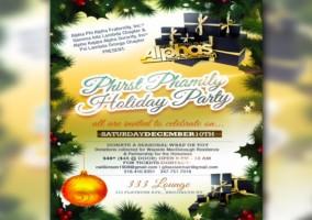 Phirst Phamily Holiday Party