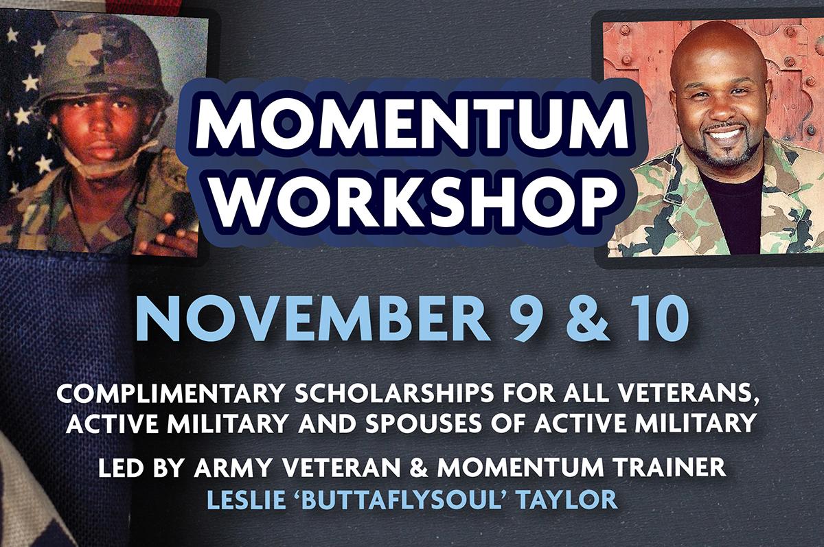 Momentum Workshop - Veterans Only Workshop