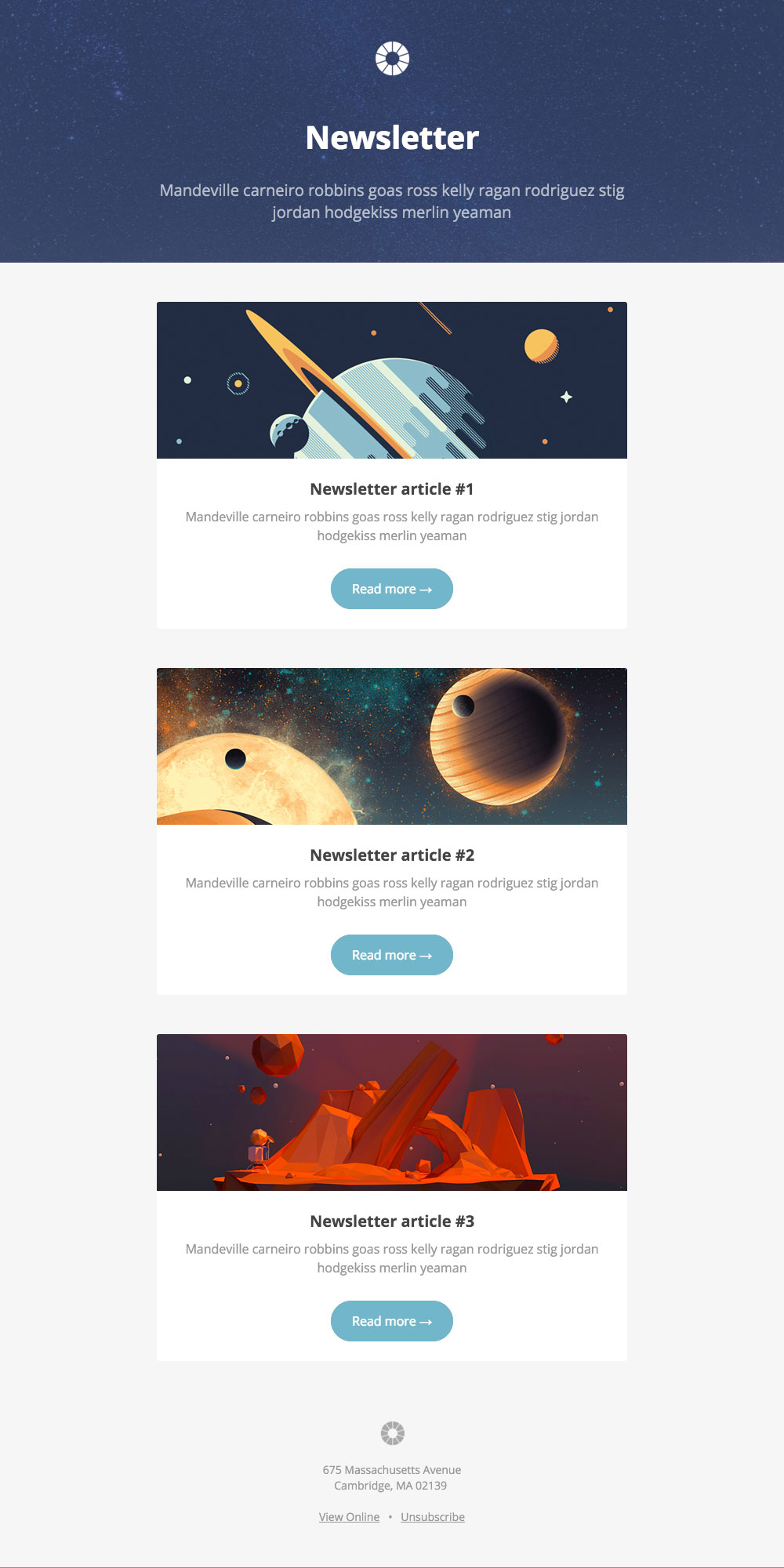20 Unique Best Mailchimp Templates | Best Template