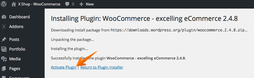 Active WooCommerce
