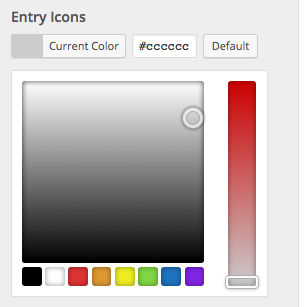 Entry Icons