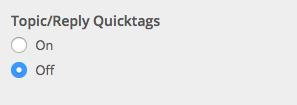 bbPress quicktags
