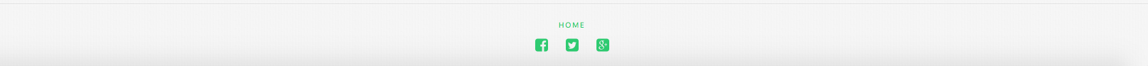 Social Icons on