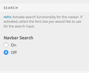 Navbar Search