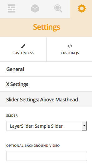 LayerSlider Added above masthead