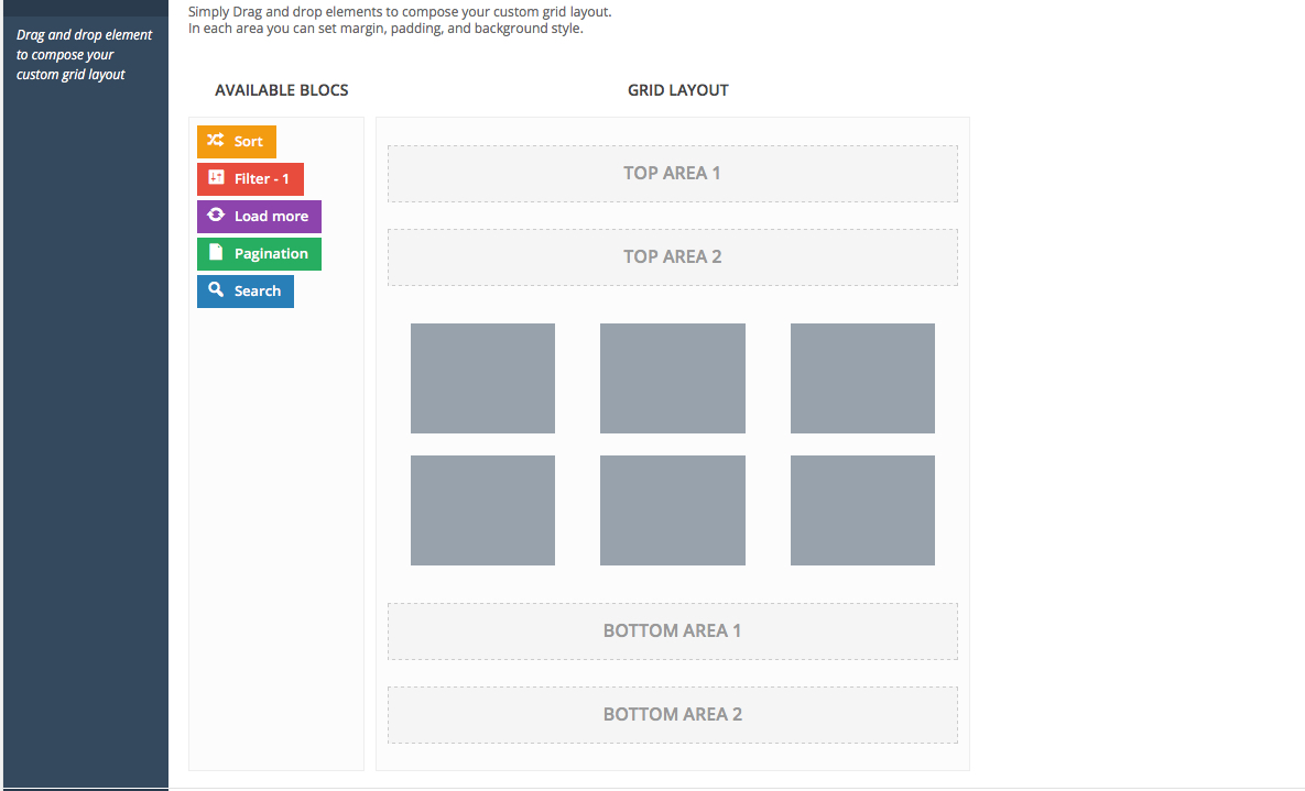 Layout Grid pagination