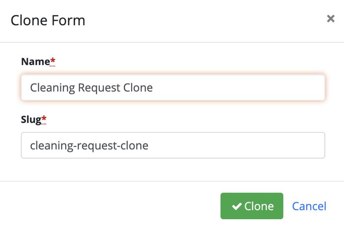 V5-Clone Form Dialog