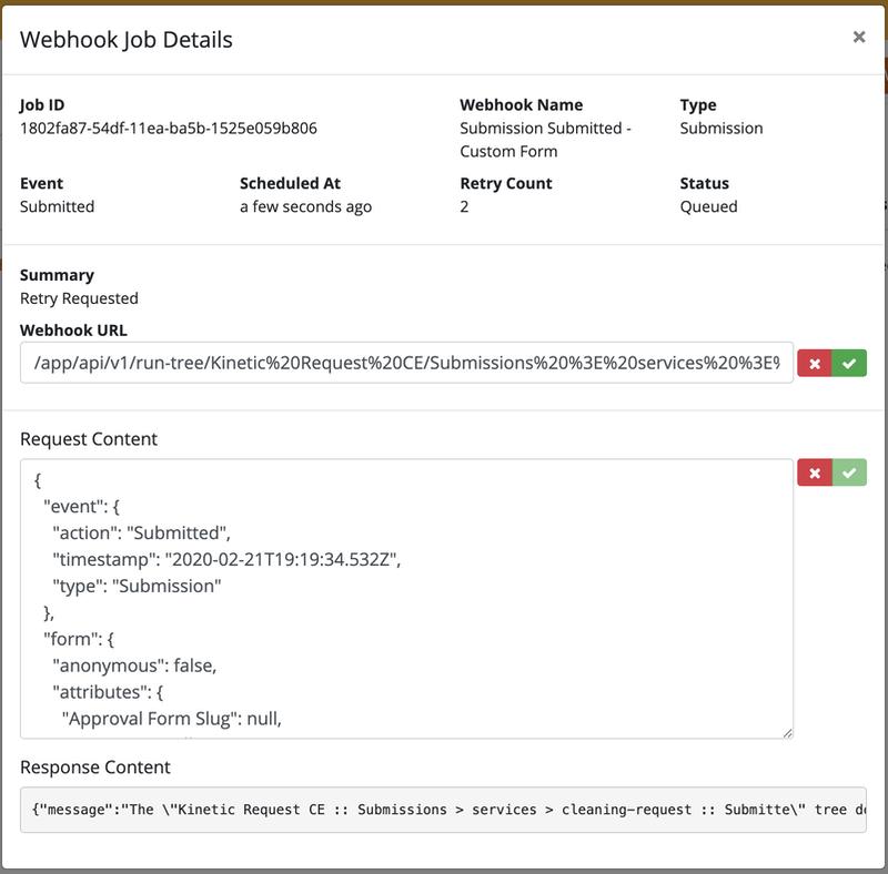 V5-Webhook Job Pending