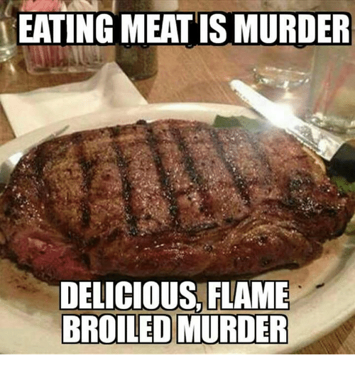 eating-meat-is-murder-delicious-flame-32427106.png