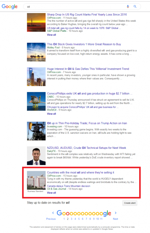 My Oil Price forum article on Google News Search for Oil.png