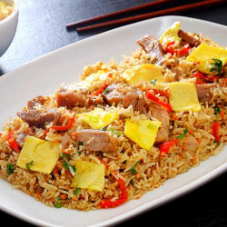 Chaufan pork rice
