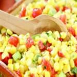 Feldsalat paprika