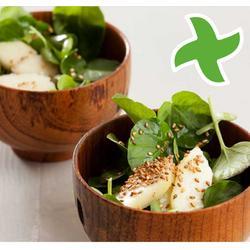 """Watercress salade en apple yn """"thermomix"""""""