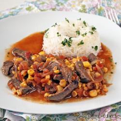 Tomaticán चावल