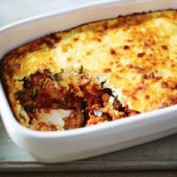 "Moussaka ""thermomix"" lentils"