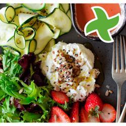 """Italjaansk salade mei & ricotta zapallo """"thermomix"""""""