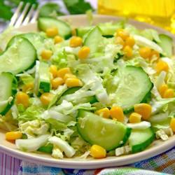 Feldsalat und gurken kinder