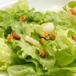 Mit palmherzen kinder salat