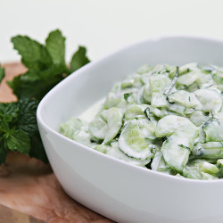 Kinder blumenkohl-salat